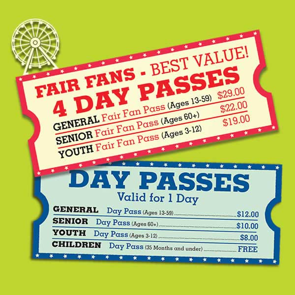 Fair Admission Tickets