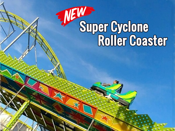 Super Cyclone Roller Coaster