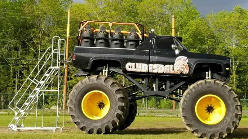 Clydesdale Monster Ride Truck