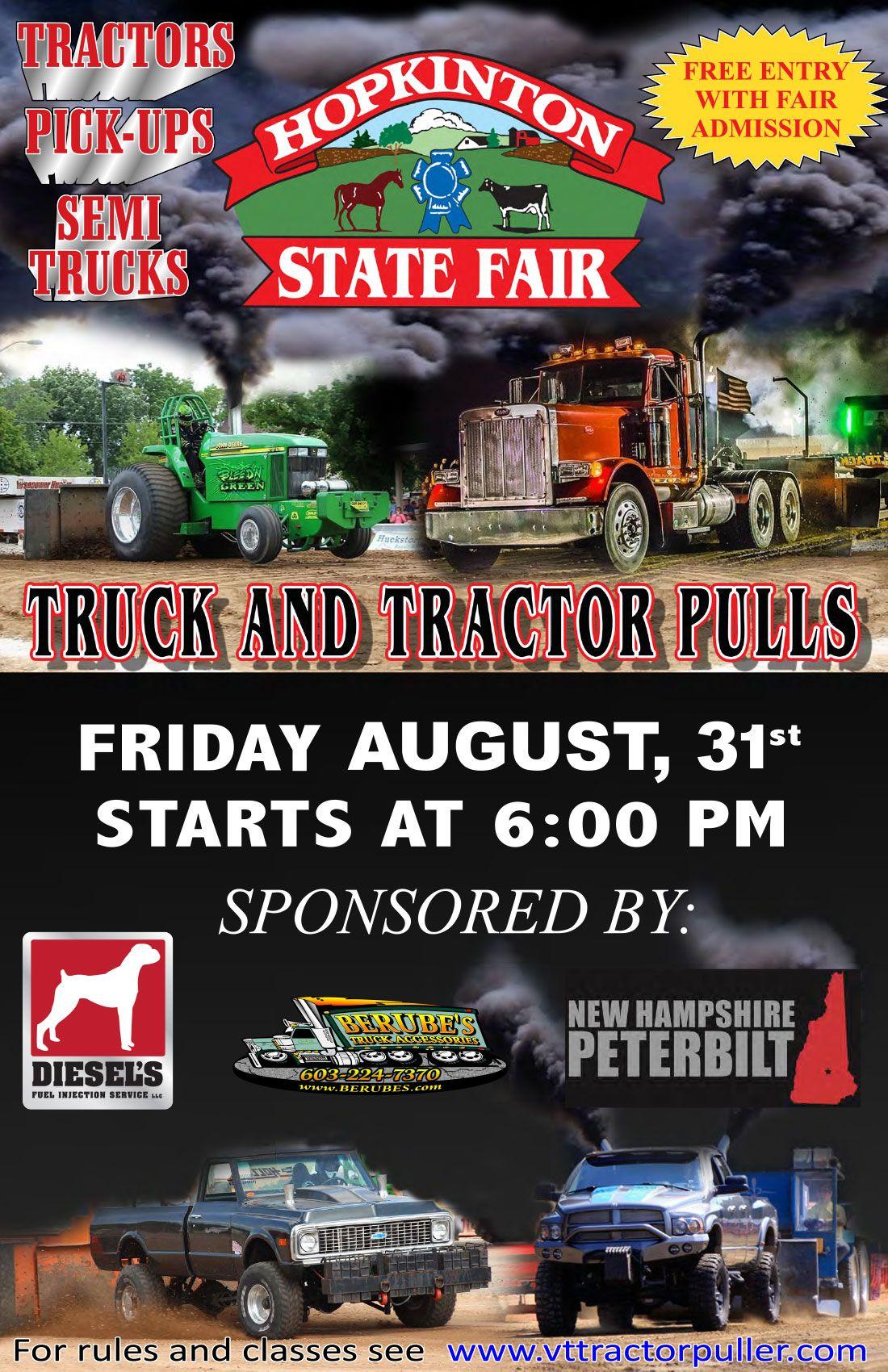 Truck & Tractor Pulls Flier