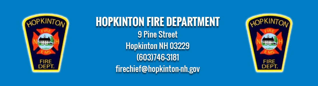 HOPKINTON FIRE DEPARTMENT