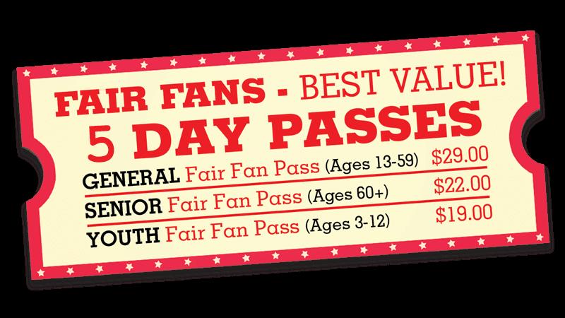Fair Fan Passes